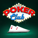Poker club Stock Images