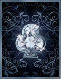 Poker clubs diamond card Royalty Free Stock Photography
