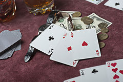 Poker concept. Stock Photography