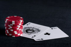Poker concept Royalty Free Stock Photography