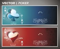 Poker design Royalty Free Stock Photo
