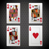 Poker design, cards and game concept ,, casino games Stock Photos