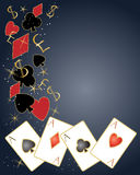 Poker design Stock Images