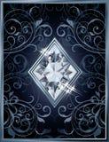 Poker diamonds brilliant card Stock Photos