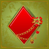 Poker Diamonds Royalty Free Stock Image