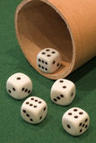 Poker Dice Royalty Free Stock Photos