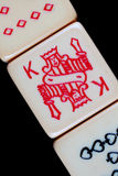 Poker Dice Close-Up Stock Images