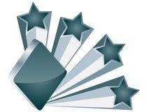 Poker element -rhombus Stock Image