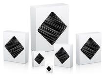 Poker element -rhombus Stock Images