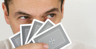Poker face Royalty Free Stock Photo