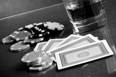 Poker Gambling Stock Photos