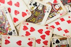 Poker gambling cards Royalty Free Stock Image