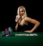 Poker game Royalty Free Stock Image