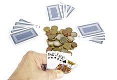 Poker game Stock Photos