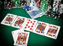 Poker game concept Stock Photo