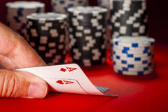 Poker game. Stock Photos