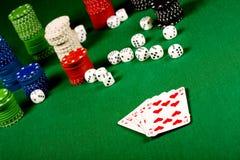 Poker gear Stock Photos
