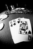 Poker gear fisheye look Stock Image