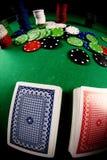Poker gear fisheye look Royalty Free Stock Photo
