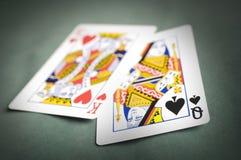 Poker hand Stock Photography