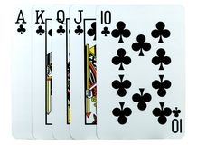 A Poker Hand Stock Images