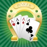 Poker-Horseshoe Royalty Free Stock Image