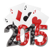 2015 poker Stock Images