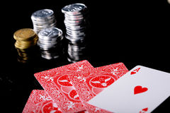 Poker java Royalty Free Stock Images