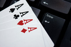 Poker Join Royalty Free Stock Photos
