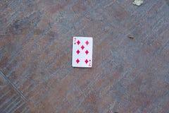 Poker 7on jordningen Royaltyfri Foto
