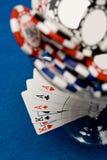 poker koktajlowym. Zdjęcia Stock