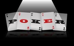 Poker Logo Stock Photo