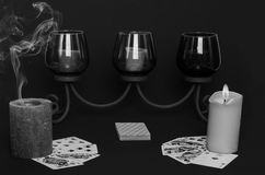 Poker med gnistan Royaltyfri Bild