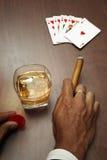 Poker Noir Royalty Free Stock Photography