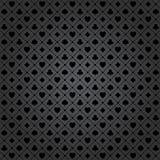 Poker pattern. Black poker background with dots pattern Vector Illustration