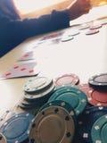 Poker picture winning streak 2017 stock image