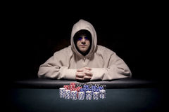 Free Poker Player Stock Photography - 7645682