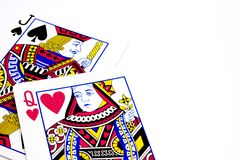 Free Poker Playing Cards - Jack Queen Lovers Stock Photo - 25680