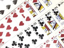 Free Poker Playing Cards. Spades. Hearts. Clubs. Diamonds Royalty Free Stock Images - 164697979