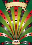 Poker poster Stock Image