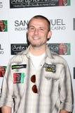 """Poker-Pro Joe Sebok, der oben zu dem 2. jährlichen """"Einsatz für Afrika"""" Poker-Turnier kommt Stockbilder"""