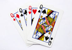 Poker queen Stock Photo