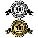 Poker room sign Royalty Free Stock Photo