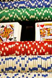 Poker Scene Royalty Free Stock Photo