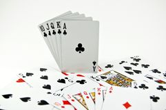 Poker Seriers Stock Images