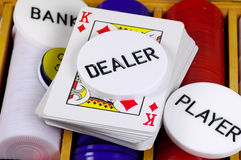 Poker Set Royalty Free Stock Photos