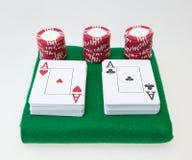 Poker set Royalty Free Stock Image