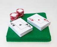 Poker set Stock Image
