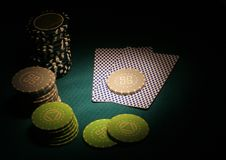 Poker sports abstract Stock Image
