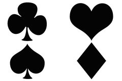 Poker symbol Royalty Free Stock Photography